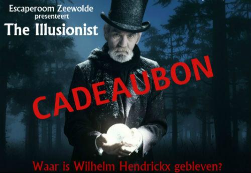 Cadeaubon Escaperoom Zeewolde